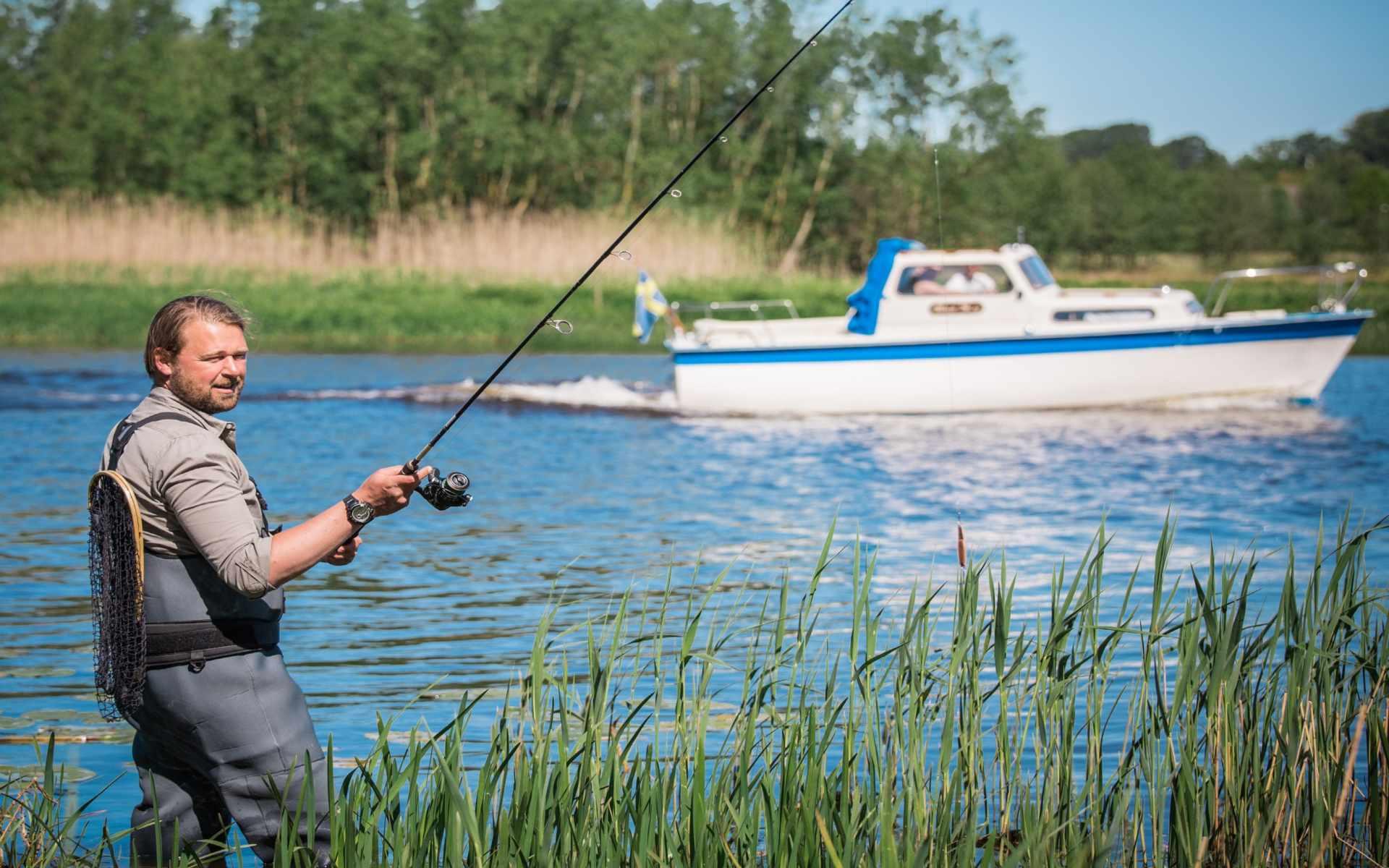 Prova fiskelyckan