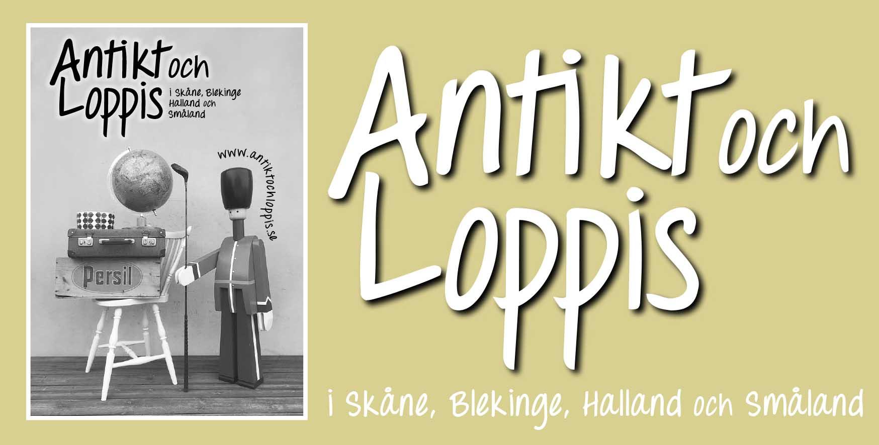 Antikt och Loppis 2018