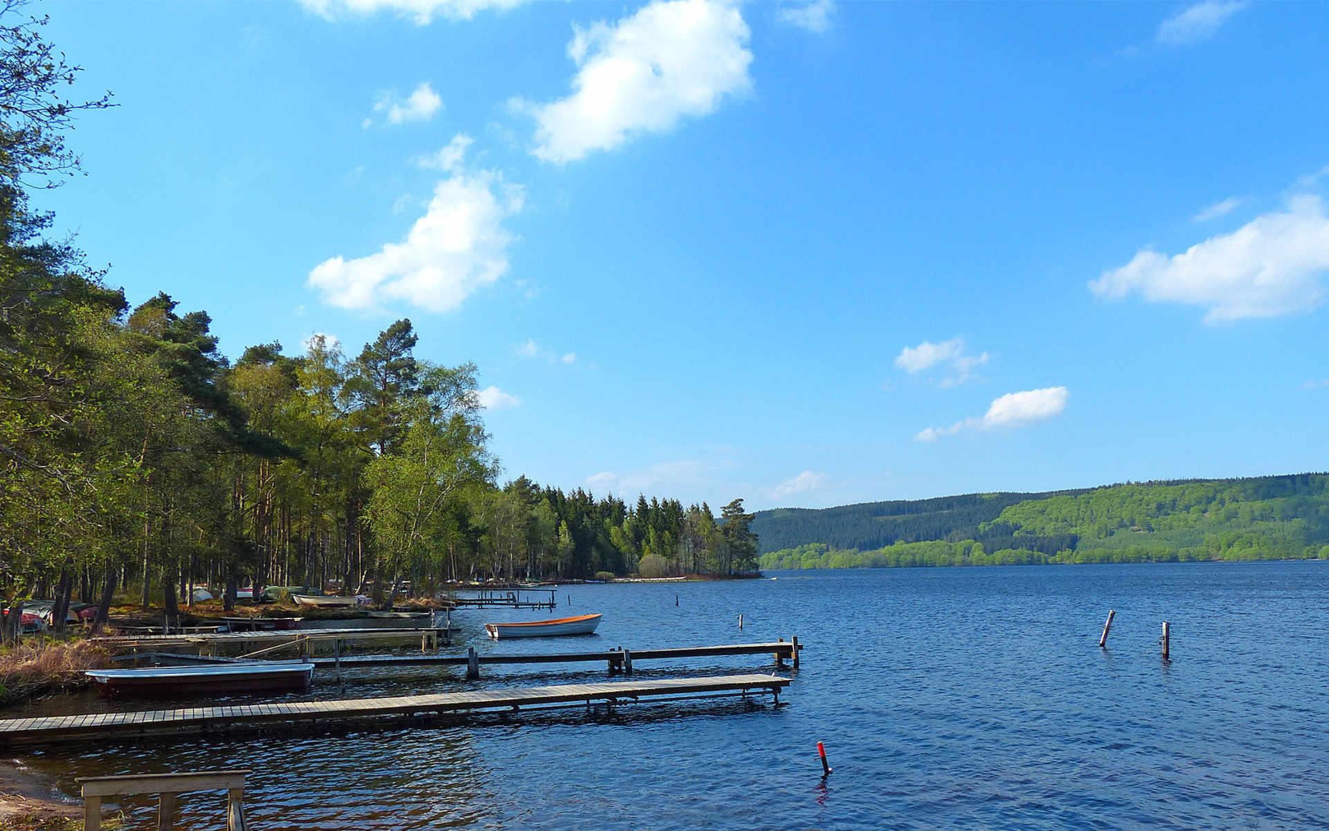 Västersjön, Hallandsåsen