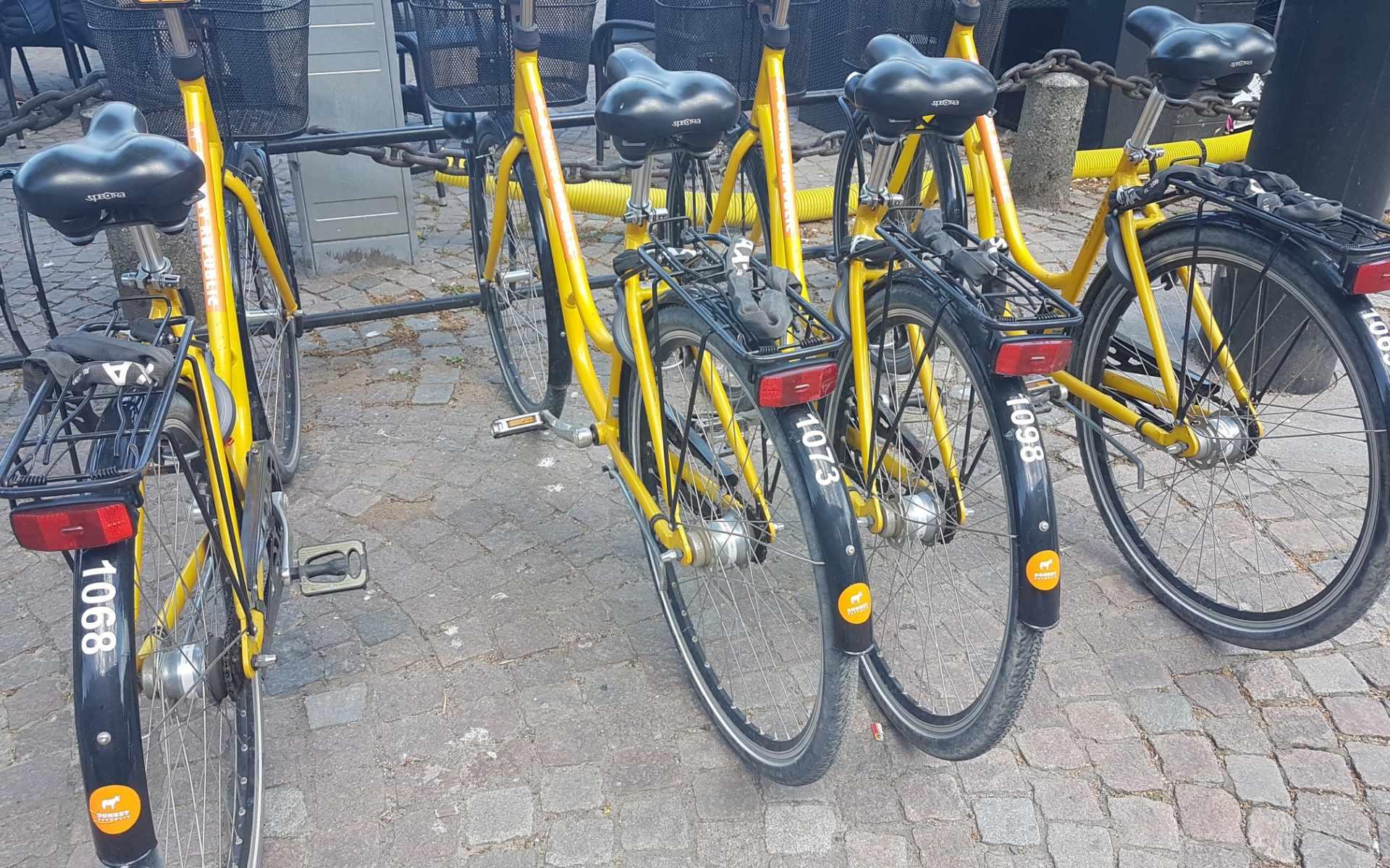 Cykeluthyrning i Ängelholm