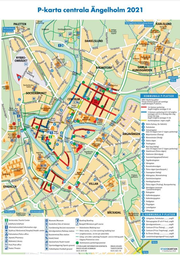 City map 2021